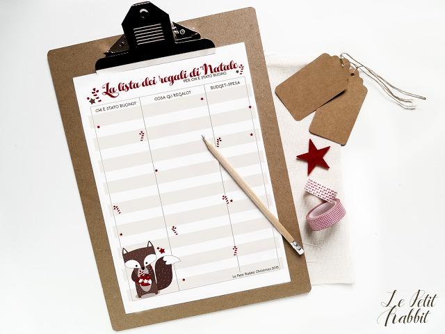 Lista dei regali