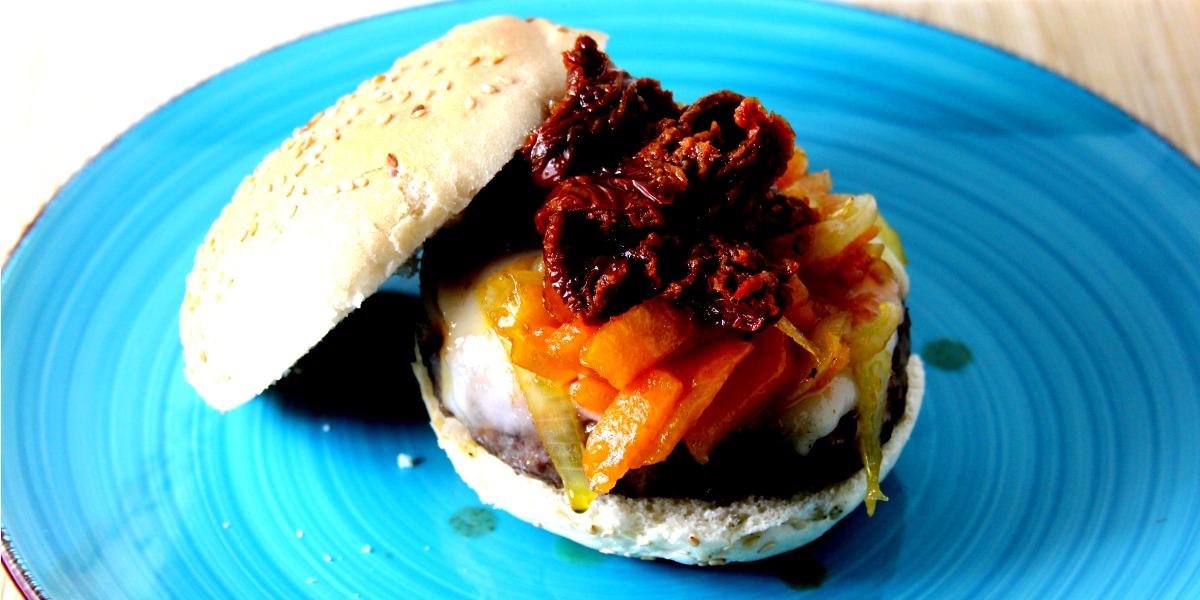 Hamburger Gourmet autunnale alla zucca caramellata