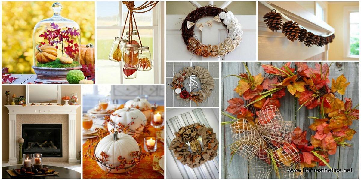 Idee per decorare la casa a tema autunno mangiamondo for Idee per casa