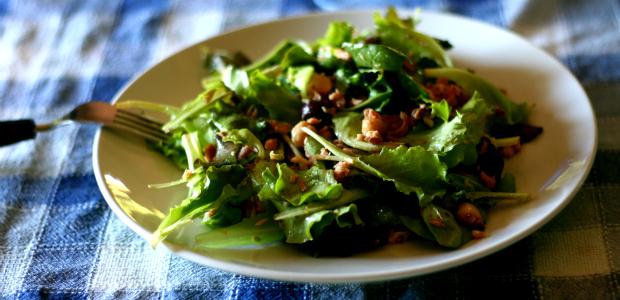 Insalatona tonno, ceci e olive taggiasche
