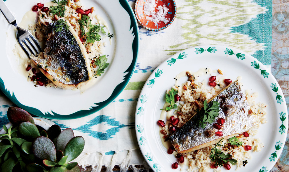 mackerel-with-cauliflower-couscous-and-tahini-940x560