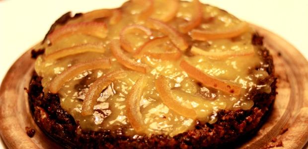 Torta svedese zenzero, cacao e noce moscata alle noci
